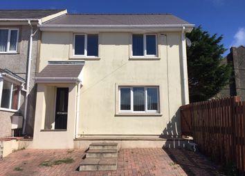 Thumbnail 3 bed semi-detached house to rent in Stranraer Road, Pennar Pembroke Dock
