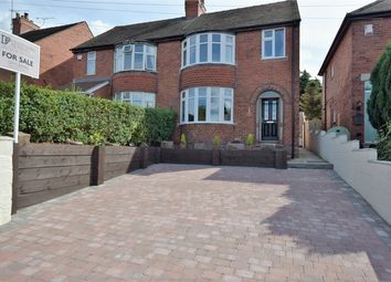 Thumbnail 3 bed semi-detached house for sale in Derby Road, Denby, Ripley, Derbyshire