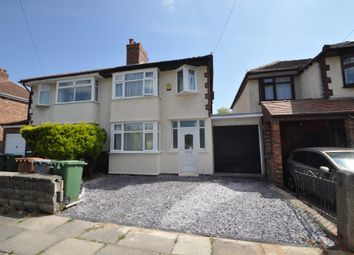 Thumbnail 3 bed semi-detached house for sale in Mill Road, Bebington, Wirral