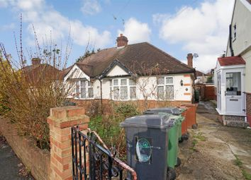 Thumbnail 3 bed semi-detached bungalow for sale in Amesbury Drive, London