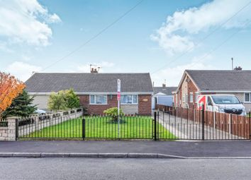 Thumbnail 3 bed semi-detached bungalow for sale in Meadow Way, Harworth, Doncaster