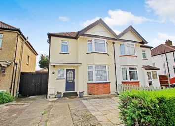 Thumbnail 3 bed semi-detached house for sale in Princes Avenue, Tolworth, Surbiton