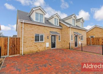 3 bed semi-detached house for sale in California Road, California, Great Yarmouth NR29