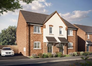 Thumbnail 3 bed semi-detached house for sale in Merlon Court, Stafford