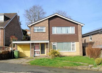 Thumbnail 3 bed detached house for sale in West Downs Close, Fareham