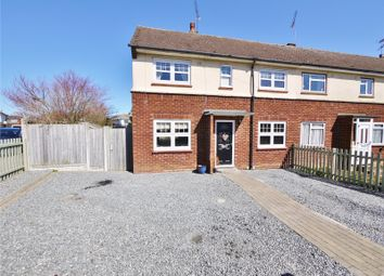 Thumbnail 2 bed end terrace house for sale in Cornwall Road, Pilgrims Hatch, Brentwood, Essex