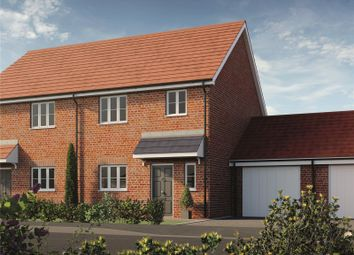 Thumbnail 3 bed semi-detached house for sale in Fusiliers Green, Heckfords Road, Great Bentley, Colchester