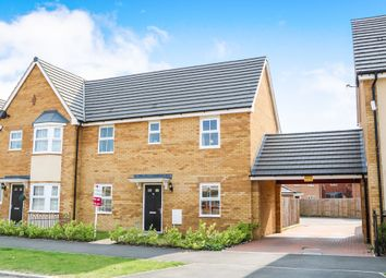 Thumbnail 3 bed semi-detached house for sale in Fairway, Costessey, Norwich