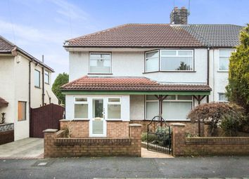 Thumbnail 3 bed semi-detached house to rent in Charlwood Avenue, Huyton, Liverpool