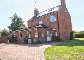 Thumbnail 3 bed detached house for sale in Moor Road, North Owersby, Market Rasen