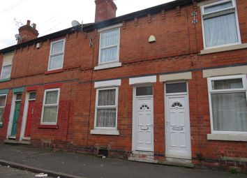 Thumbnail 2 bed terraced house for sale in Hazelwood Road, Nottingham