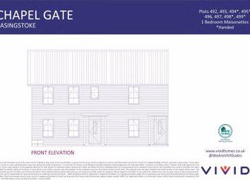 Thumbnail 1 bed flat for sale in John Liddell Way, Basingstoke