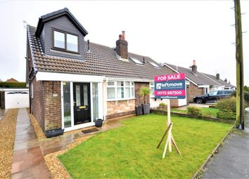 Thumbnail 3 bed semi-detached bungalow for sale in Hornby Drive, Newton, Preston