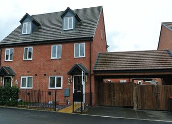 Thumbnail 3 bedroom semi-detached house for sale in Darrall Road, Lawley, Telford, Shropshire.