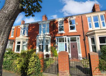 Thumbnail 3 bed terraced house for sale in Queens Road, Monkseaton, Whitley Bay