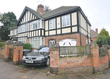 Thumbnail 5 bedroom semi-detached house for sale in Elmfield Avenue, Stoneygate, Leicester