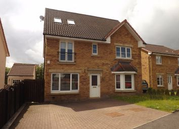 Thumbnail 5 bed detached house for sale in Dunnock Place, Coatbridge, North Lanarkshire
