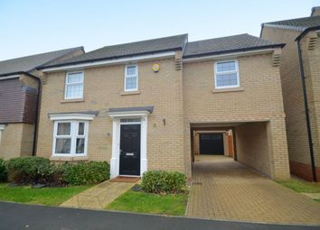 Thumbnail 4 bed detached house for sale in Harrier Close, Weldon, Corby