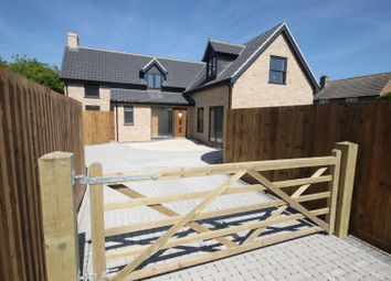 Thumbnail 4 bed detached house for sale in Ness Road, Burwell, Cambridge