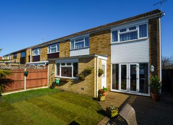 Thumbnail 3 bed semi-detached house for sale in Lincoln Rise, Waterlooville, Hampshire