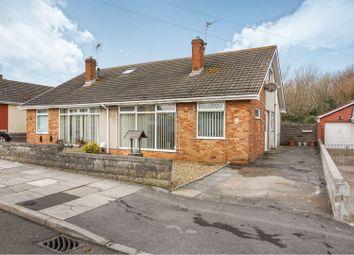 Thumbnail 3 bed semi-detached bungalow for sale in Rockfields, Porthcawl, Bridgend