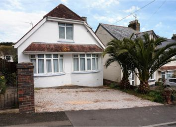 Thumbnail 3 bed detached house for sale in Blatchcombe Road, Paignton