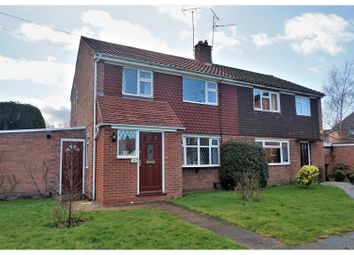 Thumbnail 3 bed semi-detached house for sale in Percy Road, Warwick