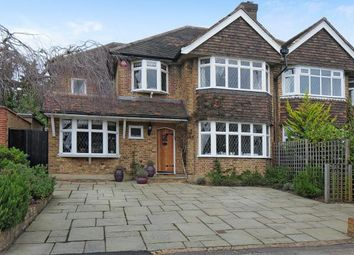Thumbnail 4 bed semi-detached house to rent in Snaresbrook Drive, Stanmore, Middlesex