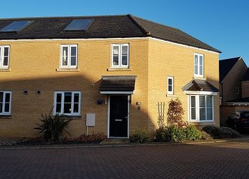 Thumbnail 3 bed semi-detached house to rent in Dairy Lane, Papworth Everard, Cambridge