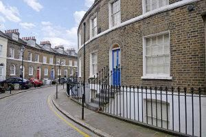 Thumbnail 3 bed mews house to rent in Keystone Crescent, London
