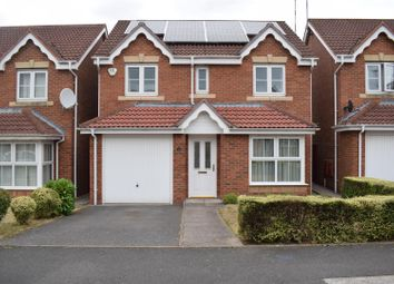 Thumbnail 4 bed detached house for sale in Lilleburne Drive, Nuneaton