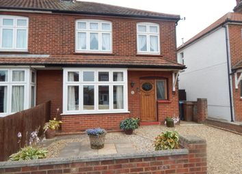 Thumbnail 3 bed semi-detached house to rent in Queens Road, Felixstowe