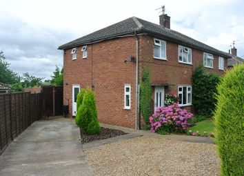 Thumbnail 3 bed semi-detached house to rent in Westry Close, Barrowby, Grantham