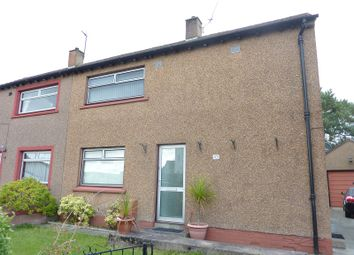 Thumbnail 3 bed semi-detached house for sale in Lewars Avenue, Dumfries, Dumfries And Galloway.