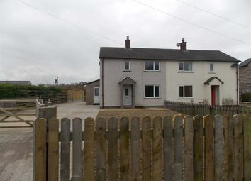 Thumbnail 2 bedroom semi-detached house to rent in Kirkandrews Moat, Longtown, Carlisle