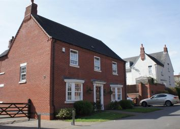 Thumbnail 4 bed detached house for sale in Ruskin Field, Anstey, Leicester