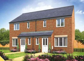 Thumbnail 3 bed semi-detached house for sale in Burbage Vale, Penkridge, Stafford