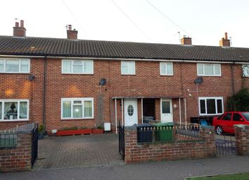 Thumbnail 3 bed terraced house for sale in Pembroke Avenue, Gorleston, Great Yarmouth