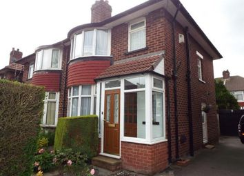 Thumbnail 3 bedroom semi-detached house for sale in Conway Avenue, Whitefield, Manchester, Greater Manchester