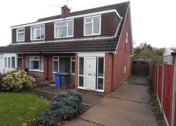 Thumbnail 3 bed semi-detached house to rent in Sandown Avenue, Mickleover, Derby