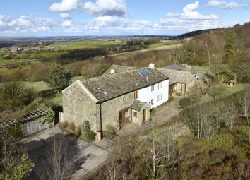 Thumbnail 6 bed detached house for sale in Hirst Lane, Cumberworth, Huddersfield, West Yorkshire