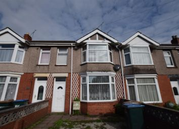 Thumbnail 3 bed terraced house for sale in Arbury Avenue, Coventry