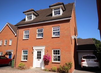 Thumbnail 4 bed detached house for sale in Hallams Drive, Stapeley, Nantwich