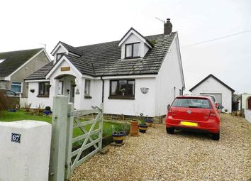 Thumbnail 4 bed detached bungalow for sale in New Road, Hook, Haverfordwest
