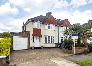 Thumbnail 3 bed semi-detached house for sale in Waverley Avenue, Surbiton
