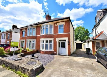 Thumbnail 3 bed semi-detached house for sale in 51 St. Gowan Avenue, Heath, Cardiff.