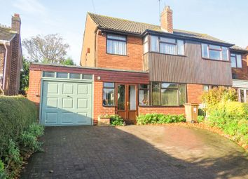Thumbnail 3 bed semi-detached house for sale in Old Road, Weston, Stafford