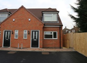 Thumbnail 2 bed semi-detached house for sale in Dorset Avenue, Glenfield