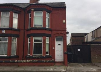 Thumbnail 4 bed end terrace house for sale in 111 Silverdale Avenue, Liverpool