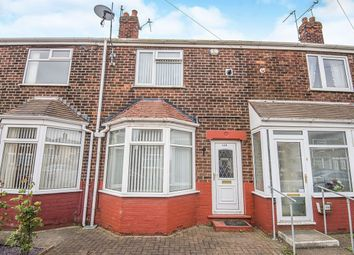 Thumbnail 2 bedroom terraced house for sale in Rustenburg Street, Hull